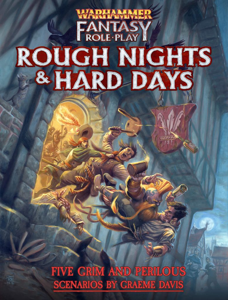 Rough Nights & Hard Days Cubicle 7 Cover