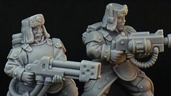 """Brother Vinni Prime Heavy Weapons With Regiment """"Jotunn"""""""