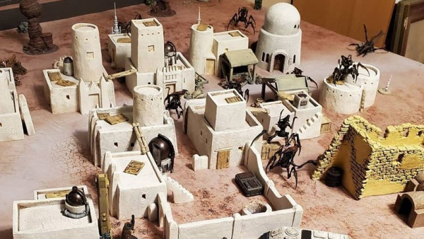 Fogou Models Adobe Buildings A Wretched Place Of Scum & Villainy