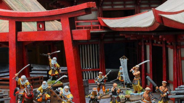 Test Of Honour Up Armoured Sohei Temple Guard