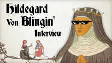 Q&A Time! Talking Bardcore & Roleplaying With Hildegard von Blingin'
