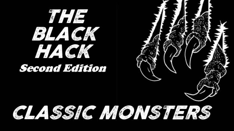 The Black Hack Second Edition - Classic Monsters
