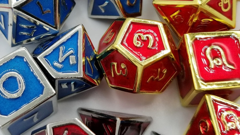 Talis Evolvere: Metal Language Dice Set