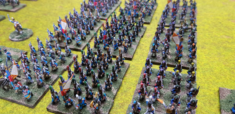 The three regiments, two line and one light, now have all three of their battalions.