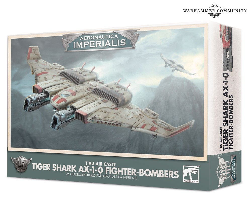 Aeronautica Imperialis Tiger Shark Fighter Bombers - Games Workshop