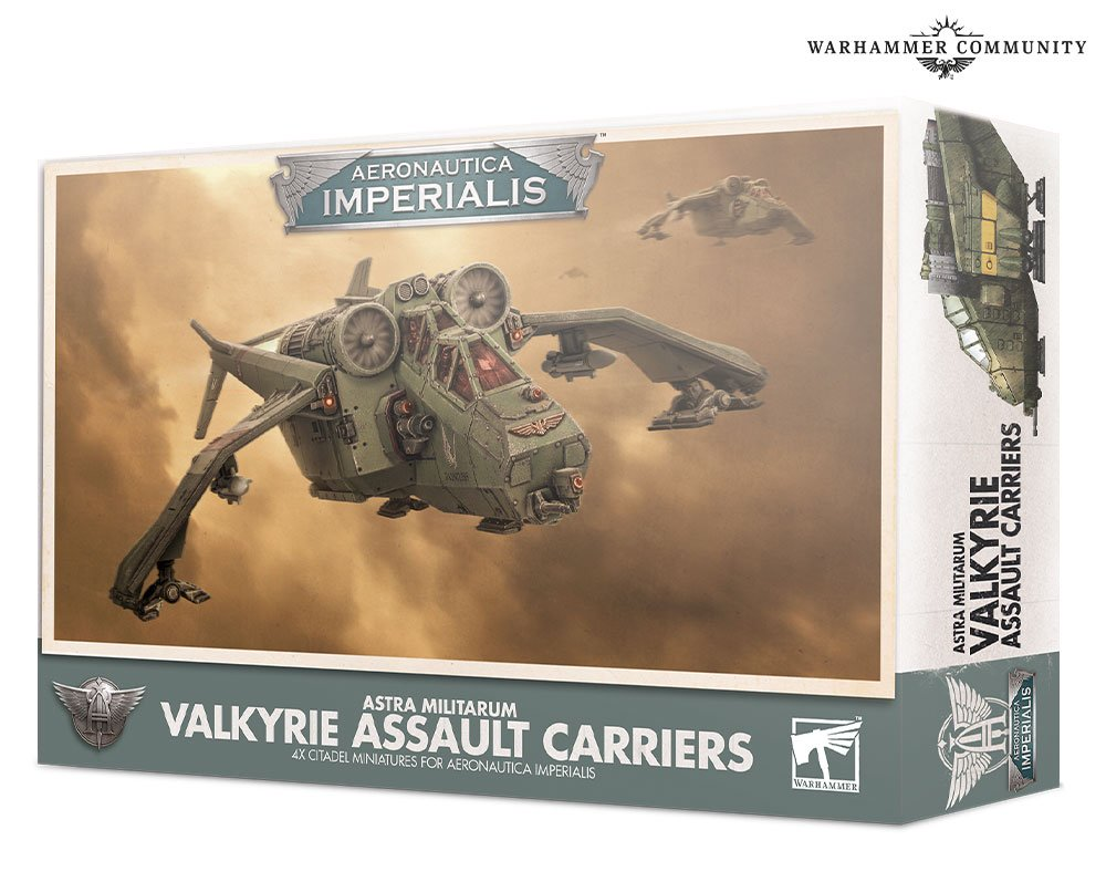 Aeronautica Imperialis Valkyrie Assault Carriers - Games Workshop