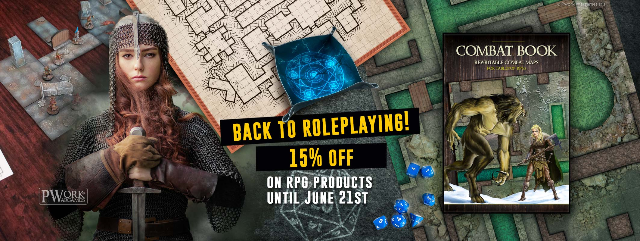 Back To Roleplaying Promotion - PWork Wargames