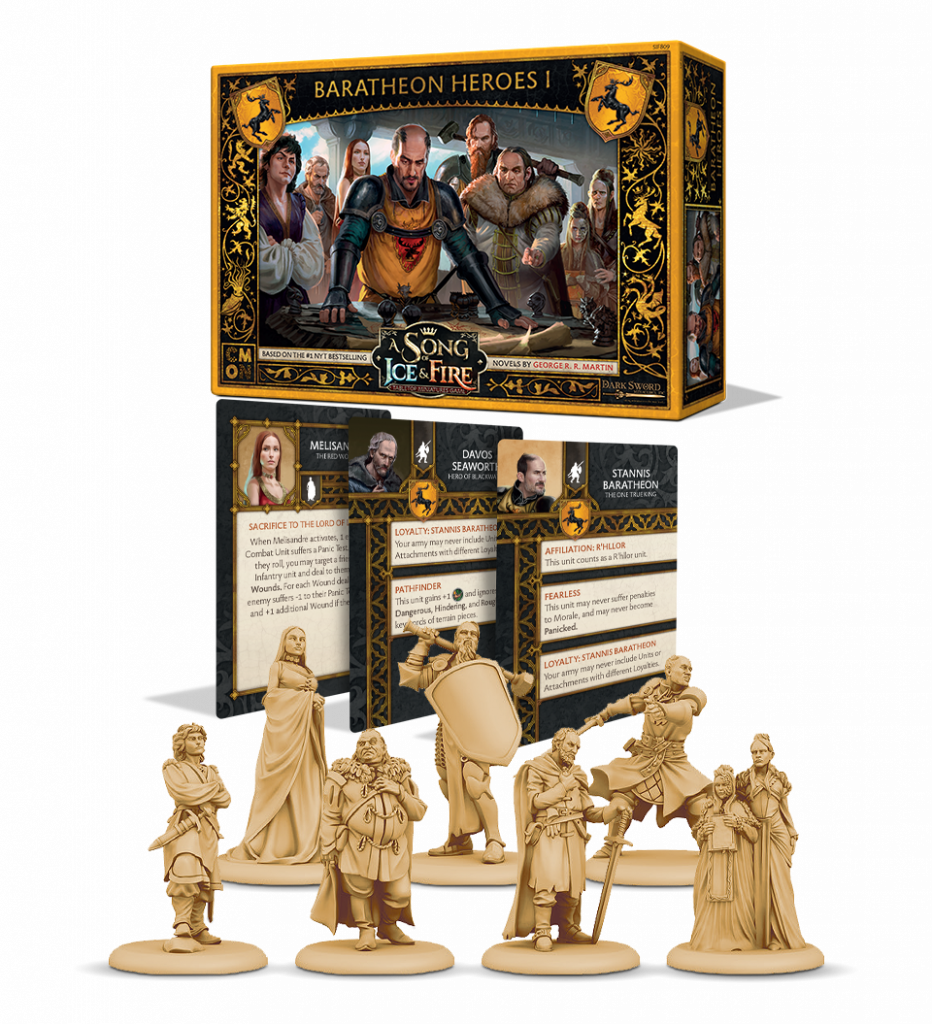Baratheon Heroes Set - CMON