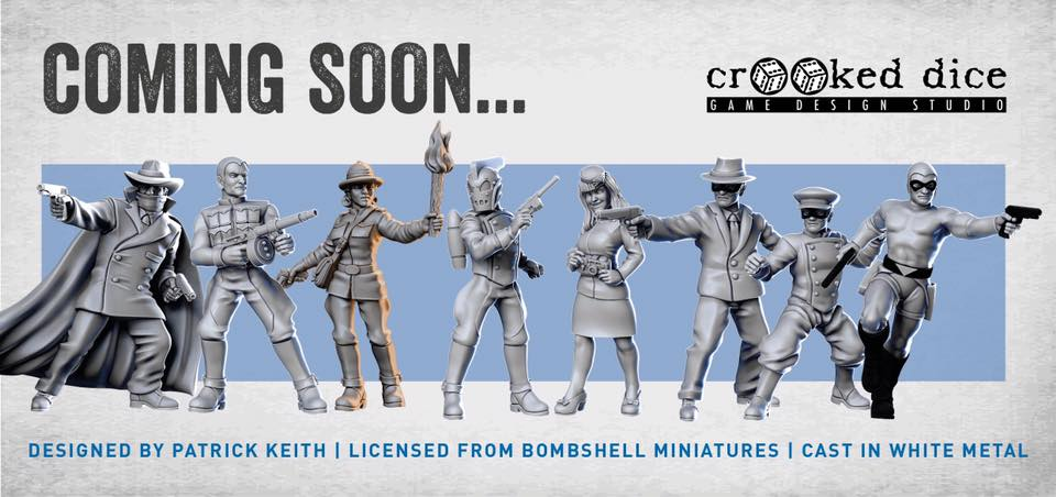 Bombshell Pulp Miniatures - Crooked Dice