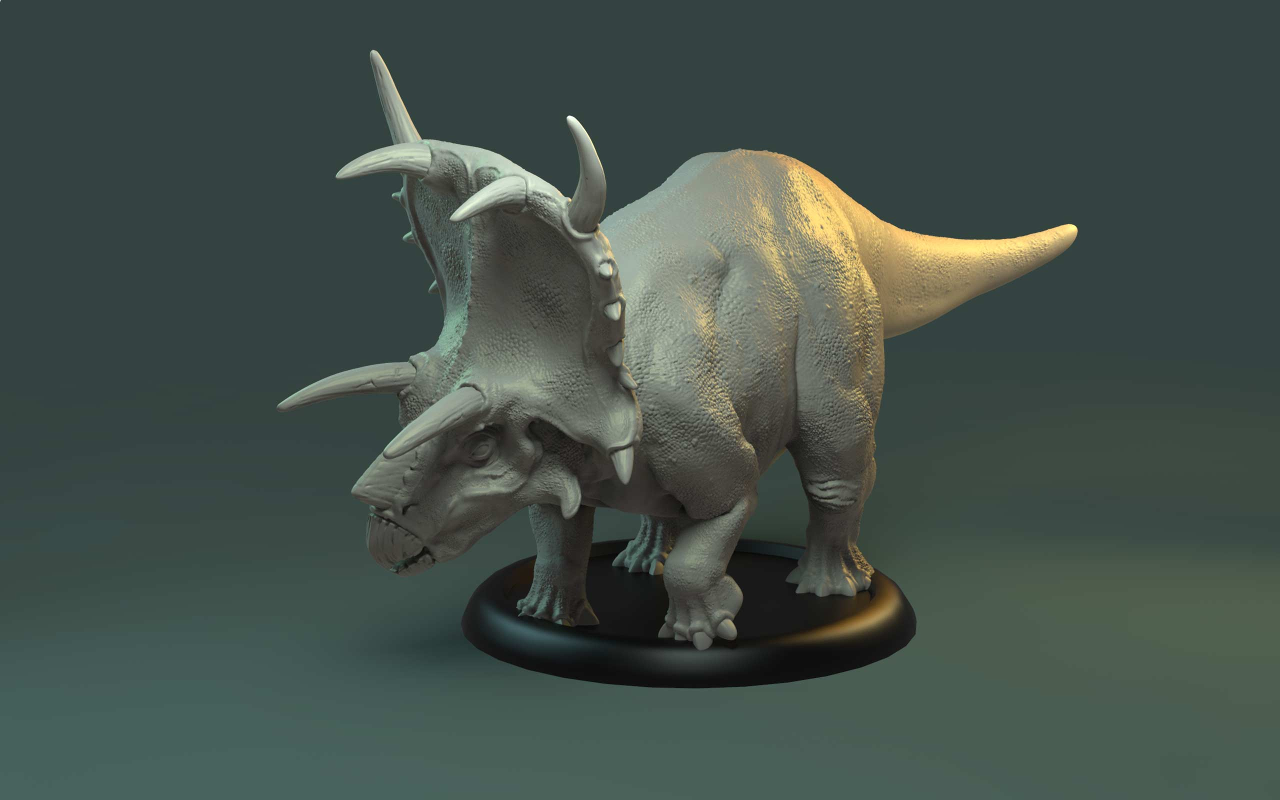 Ceratops Miniature - The Drowned Earth