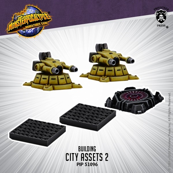 City Assets #2 - Monsterpocalypse