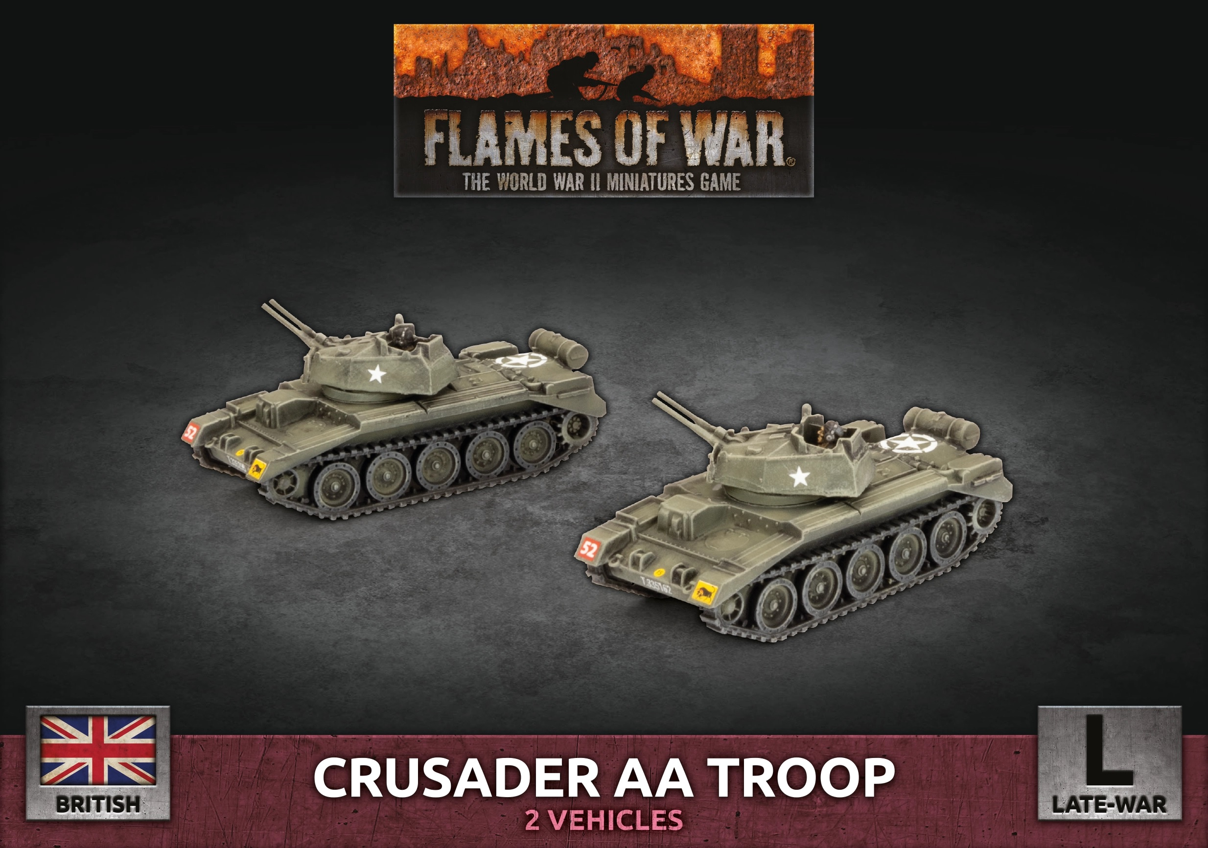 Crusader AA Troop - Flames Of War
