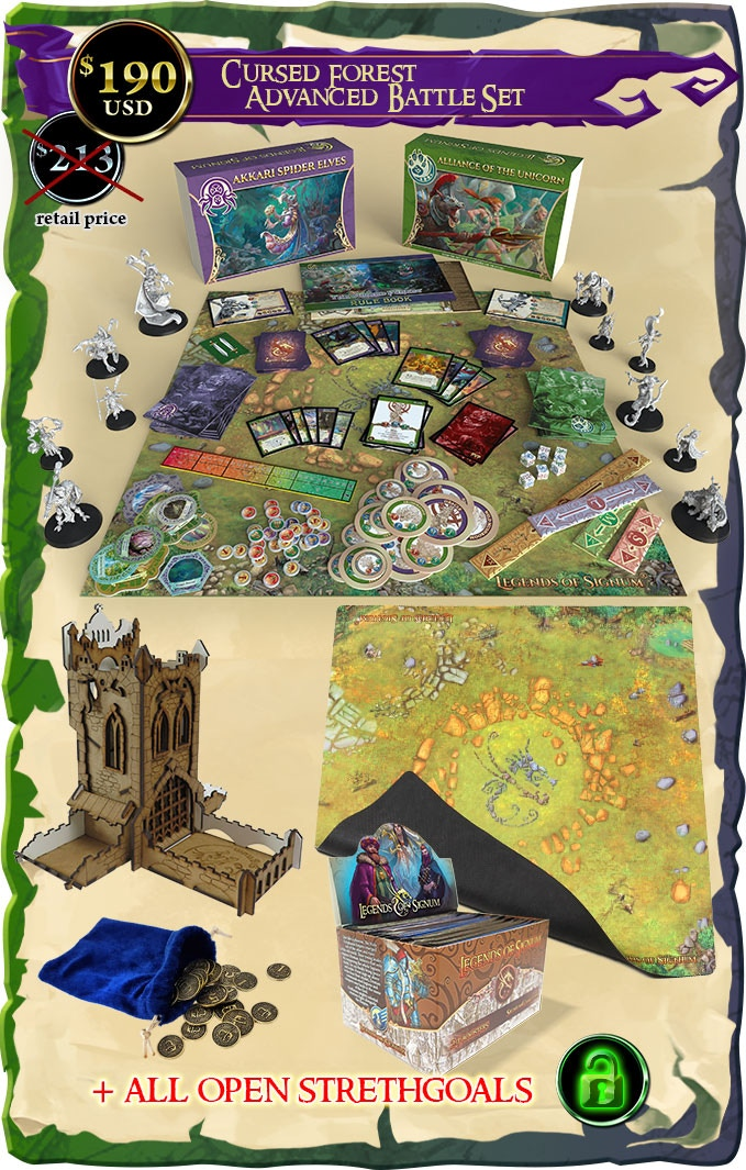 Cursed Forest Advanced Battle Set - Signum Games