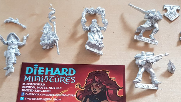 Diehard Miniatures: Wizards and their Magics!