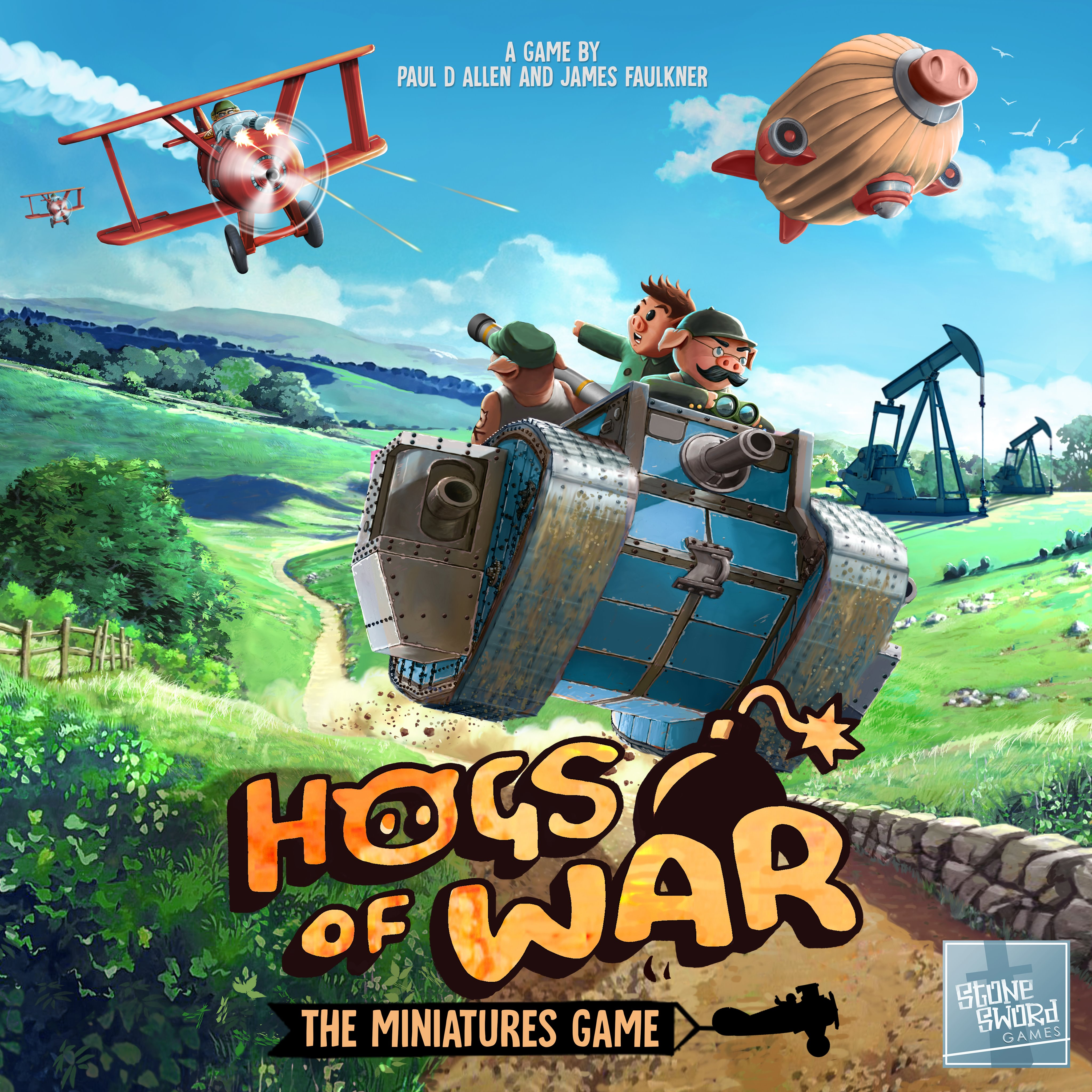 Hogs Of War The Miniatures Game - Stone Sword Games