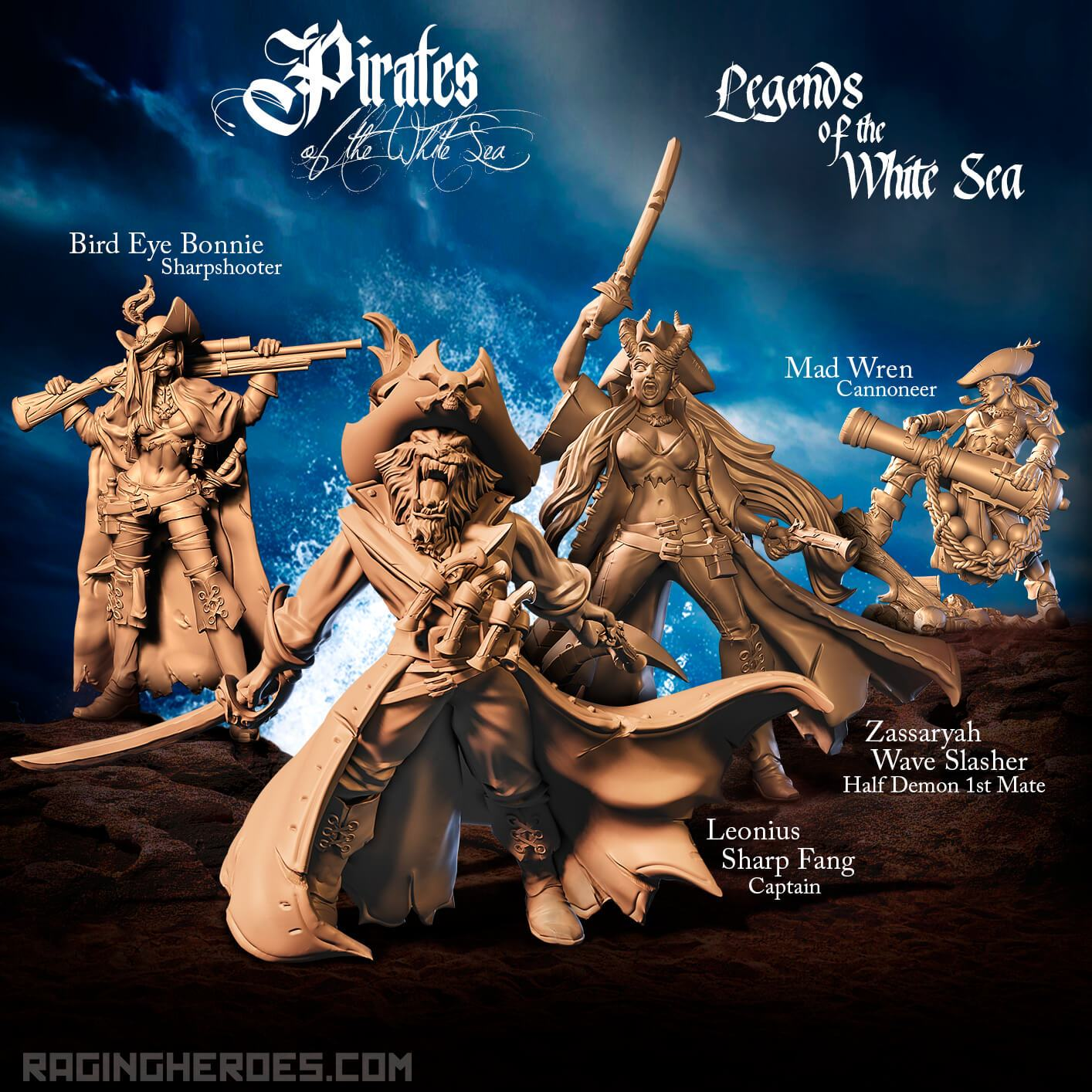 Legends Of The White Sea - Raging Heroes
