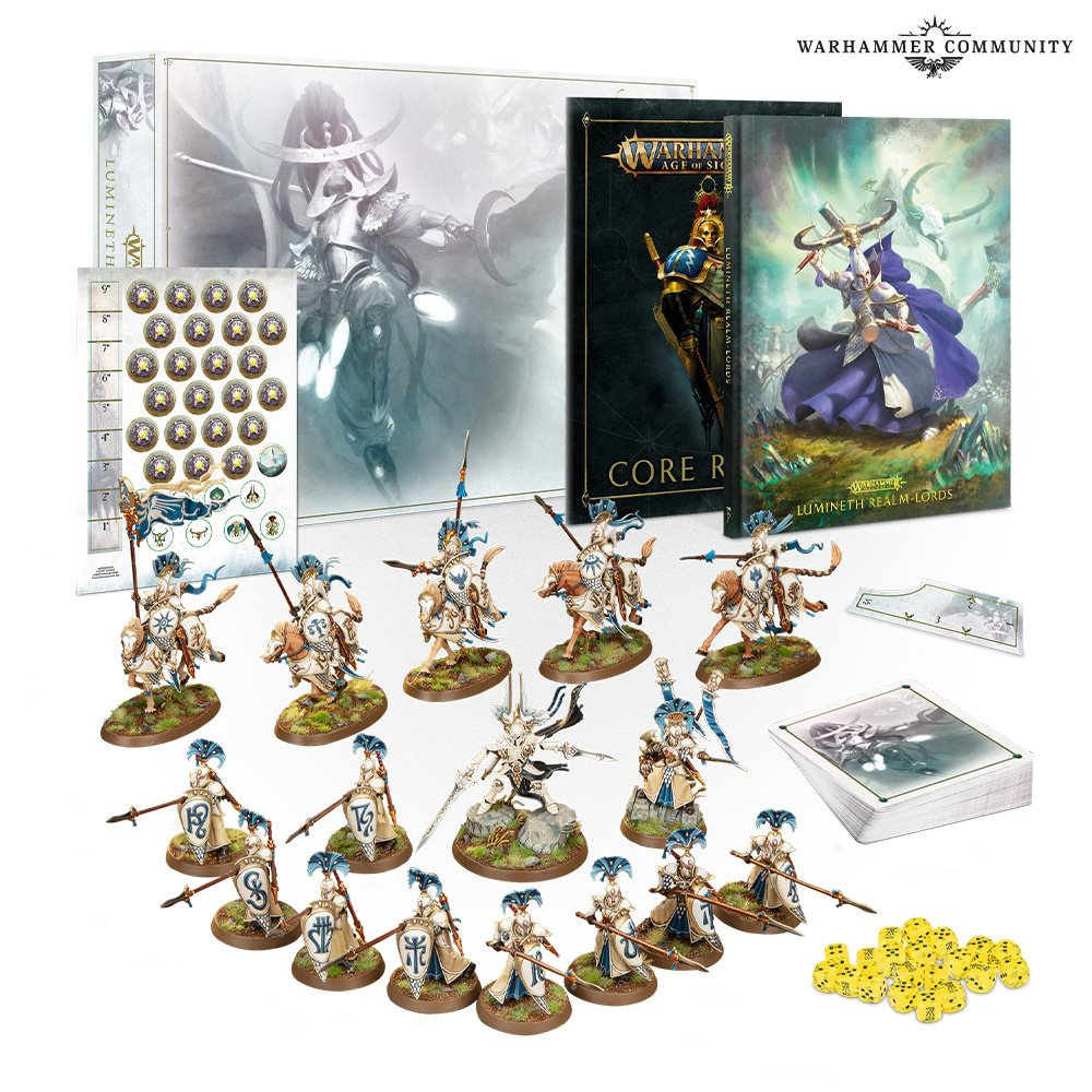 Lumineth Realm-lords Launch Box - Age Of Sigmar