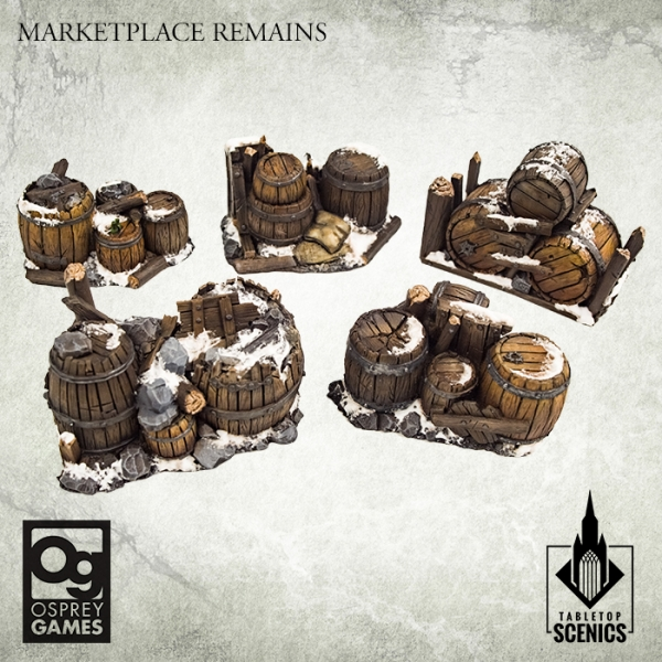Marketplace Remains - Tabletop Scenics