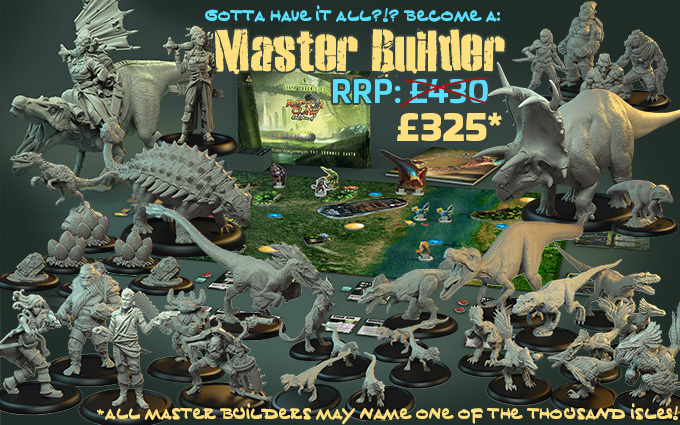 Master Builder Pledge - The Drowned Earth