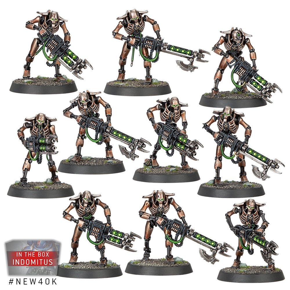 Necron Warriors - Warhammer 40K