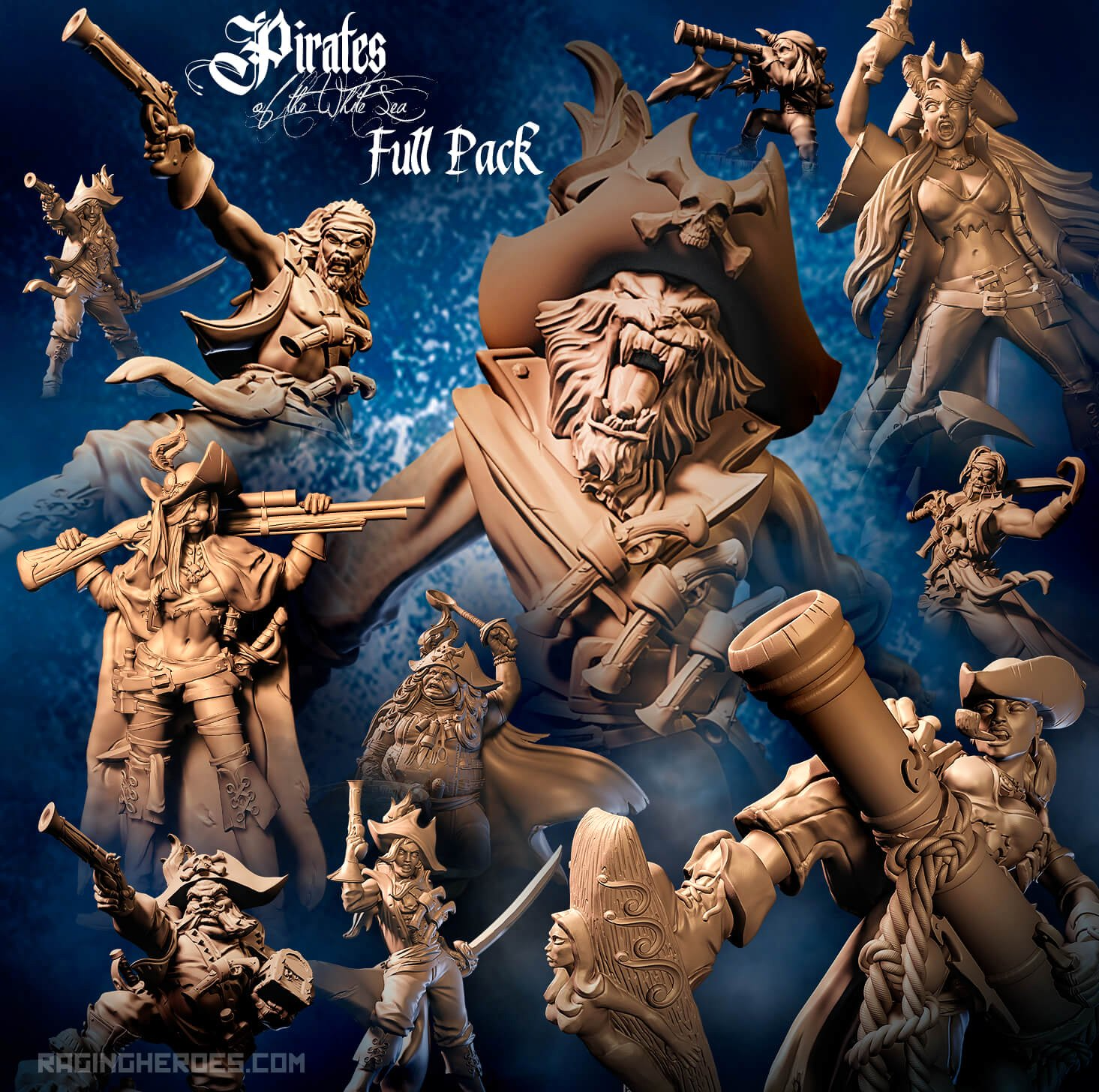 Pirates Of The White Sea Full Pack - Raging Heroes