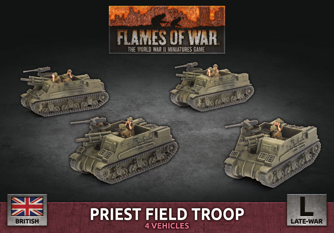 Priest Field Troop - Flames Of War