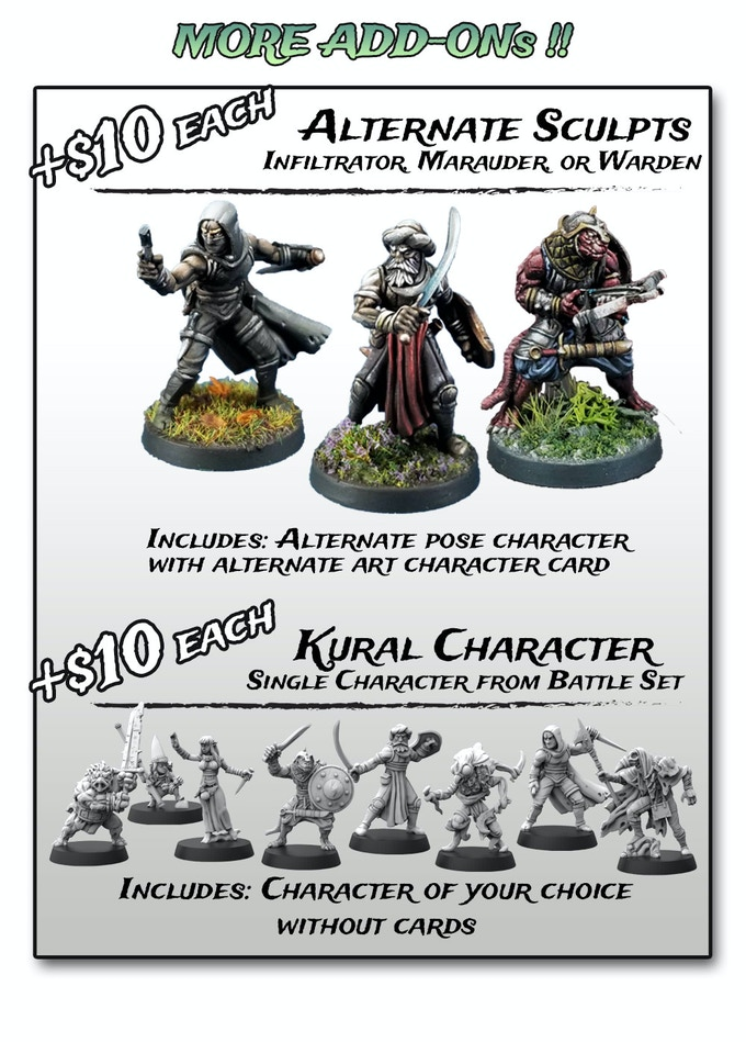 RelicBlade More Add-Ons - Metal King Studio