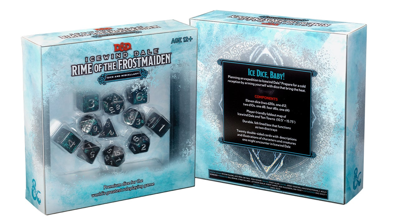 Rime Of The Frostmaiden Dice - Dungeons & Dragons