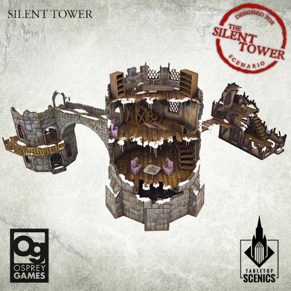 Silent Tower - Tabletop Scenics