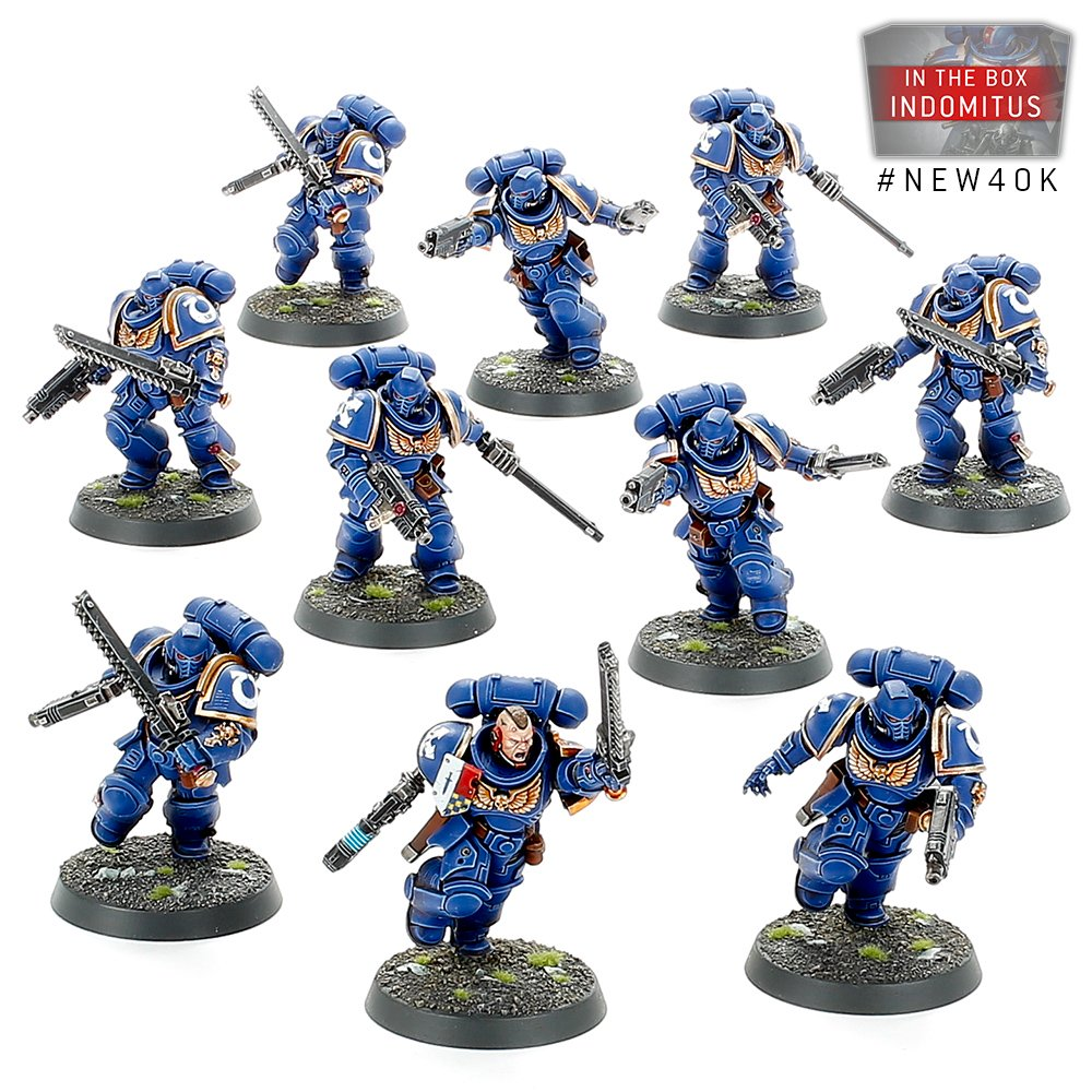 Space Marine Assault Intercessors - Warhammer 40K