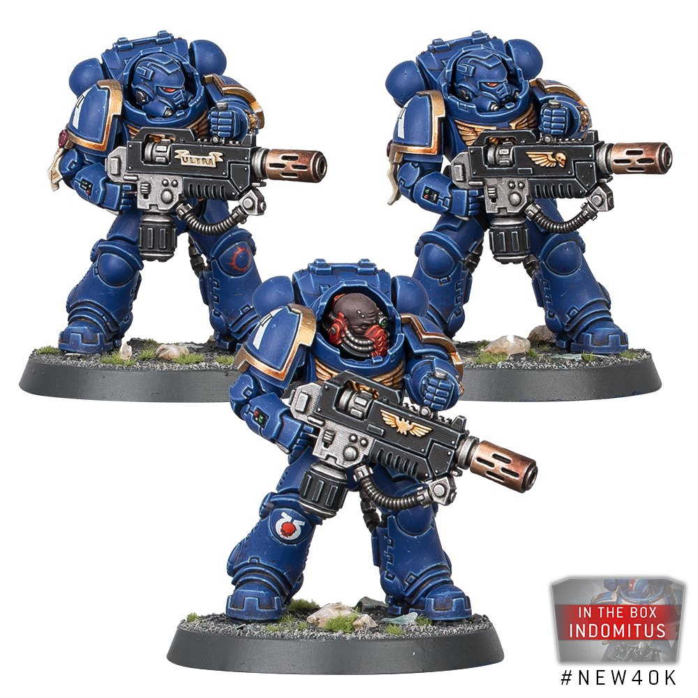 Space Marine Eradicators - Warhammer 40K