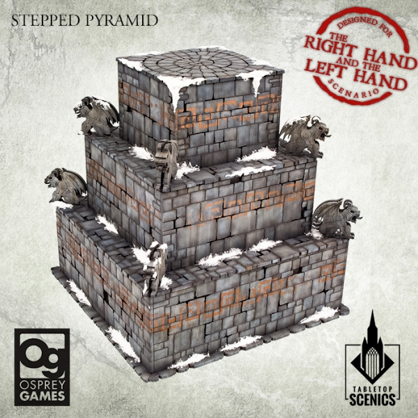 Stepped Pyramid - Tabletop Scenics