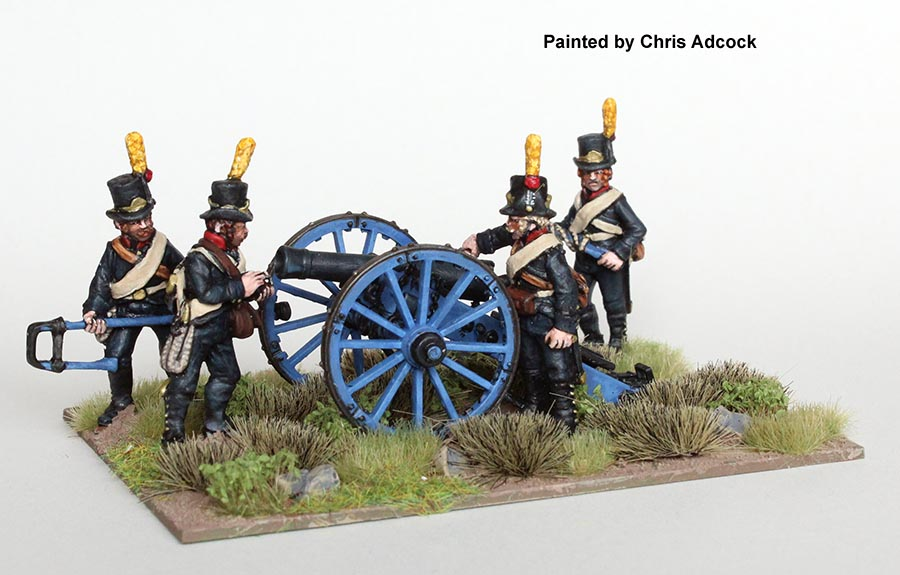Swedish 6pdr Cannon - Perry Miniatures