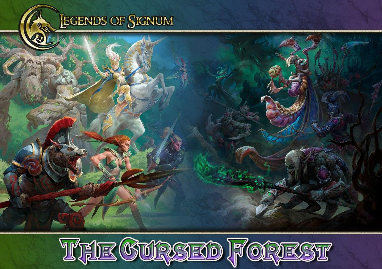 The Cursed Forest Kickstarter - Signum Games