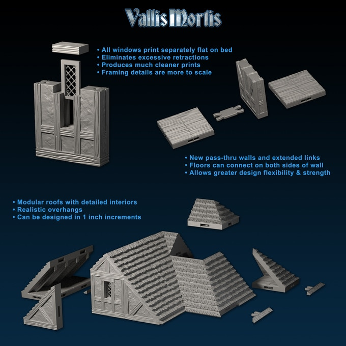 Vallis Mortis Terrain Modular - Fat Dragon GAmes