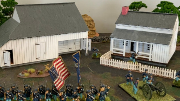 Battle At The Farms Of Gettysburg With Things From The Basement