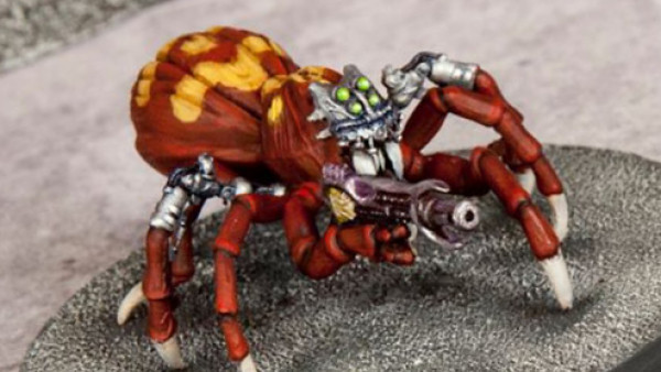 Wargames Atlantic Preview Their Fantasy & Sci-Fi Giant Spiders