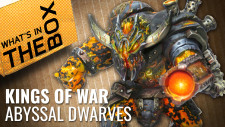 Unboxing: Kings Of Vanguard – Abyssal Dwarf Warband Booster | Mantic Games