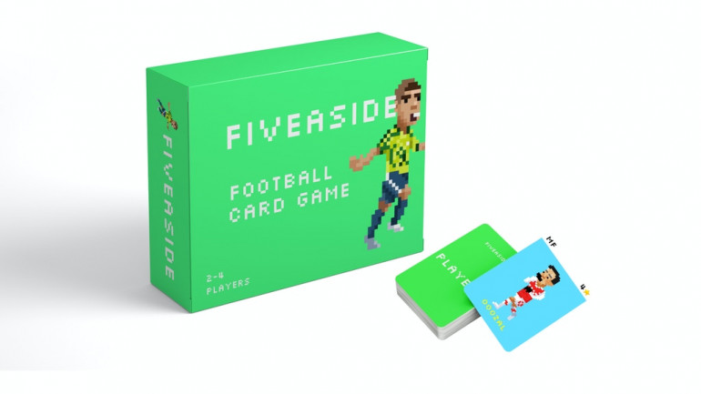 FIVEASIDE - An 8-bit style football card game