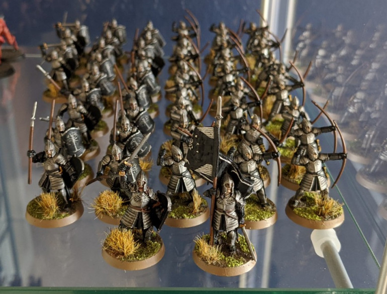 51 minis since the end of May: around about 40% of the Gondor models from the eBay army