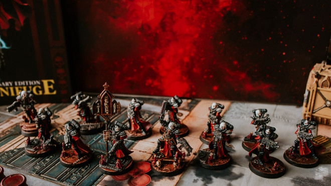 The Emperor Protects ~ Adepta Sororitas ~ A Sisters of Battle Project