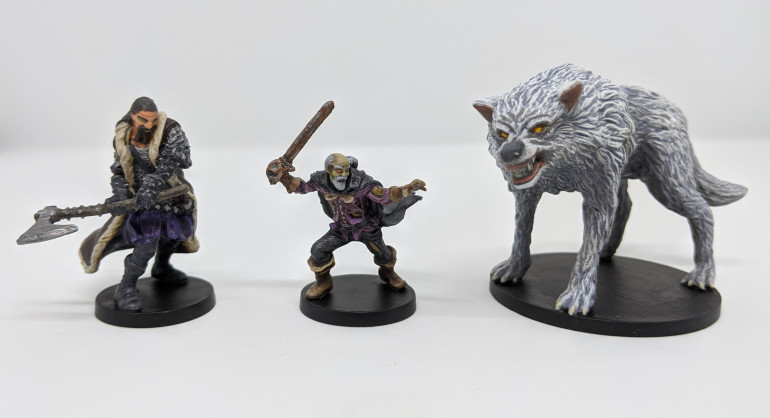 Koschei the Deathless, Henry Hood & a mighty wolf!