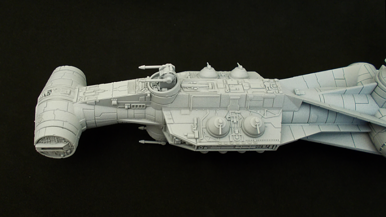 Converting FFGs Tantive IV into the LIBERATOR (X-wing Miniatures)