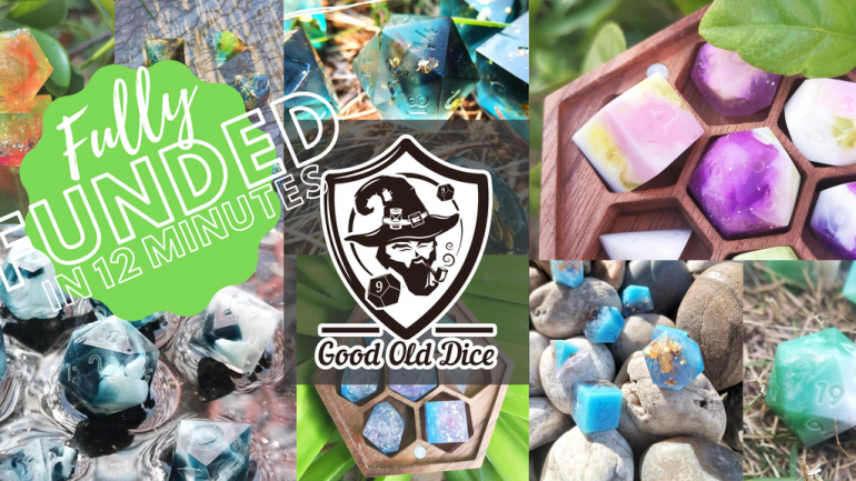 Good Old Luxury Dice G.O.L.D - Handcrafted Dice with a Smile