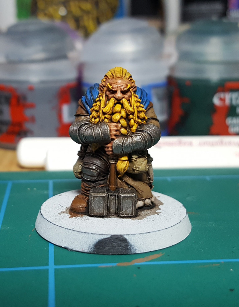 Filling The Time With Atlantis Miniatures Dwarves