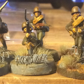 Female Russian Unit Finished And Some Civilians To Liven Up The Board