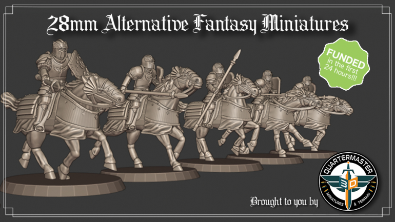 28mm Alternative Fantasy Miniature STL Files