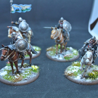Stark outriders + horses