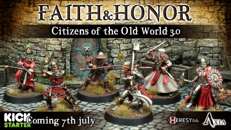Citizens: Faith and Honor by HeresyLab 28mm Resin Miniatures