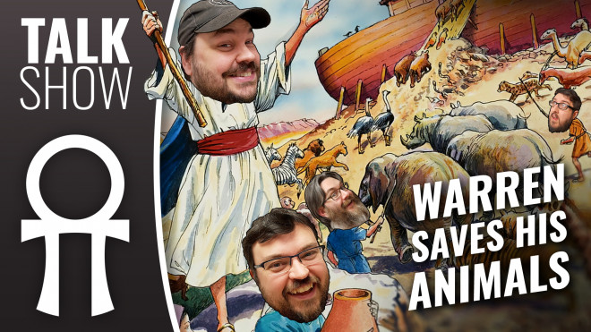 Cult Of Games XLBS: Warren Saves His Animals & Gerry's Hobby Tech!
